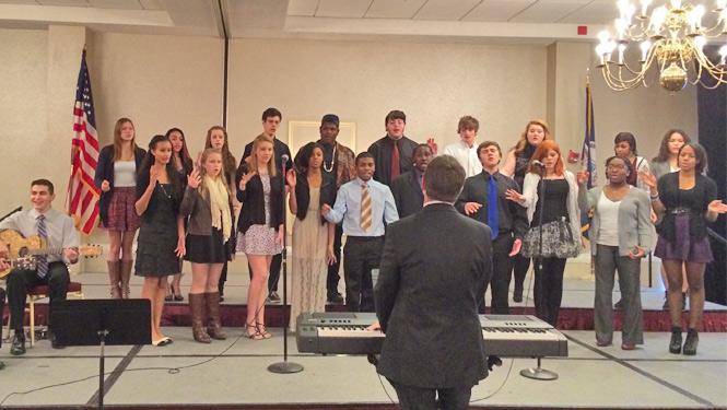 LHS Choir performs at VSBA