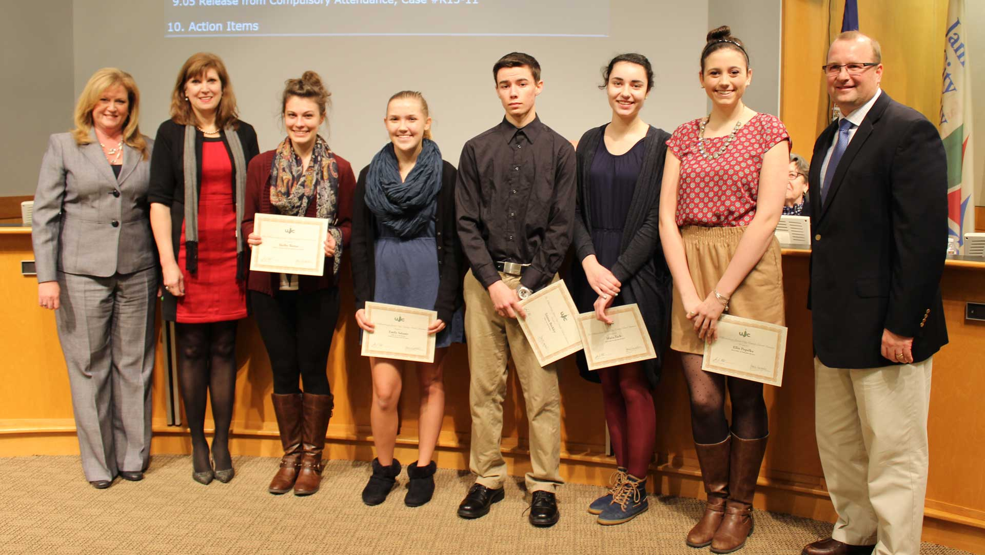 Jamestown High School VHSL State Recognitions