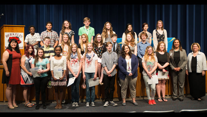 Berkeley Middle School Thespian Induction
