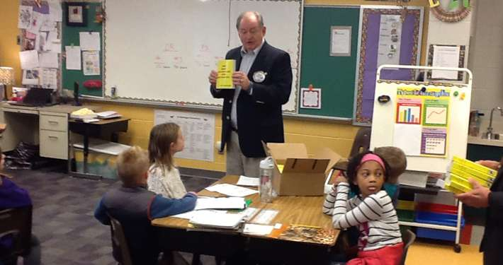 2015 Rotary Dictionary Presentations to WJCC 3rd Graders