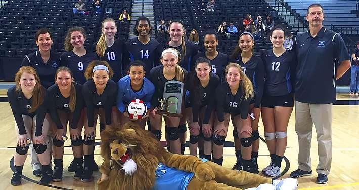 Warhill Lady Lions VB VHSL 3A State Champions