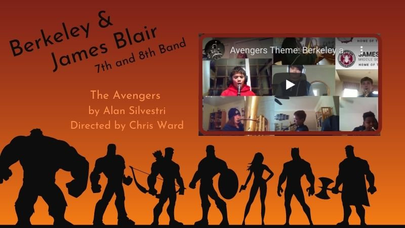 Berkeley and James Blair Virtual Band Concert