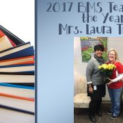 2017 BMS Teacher of the Year