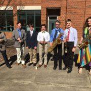 Berkeley Middle School District Band Participants
