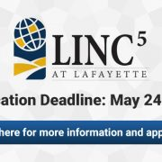 LINC5 at Lafayette High School Application Deadline May 24, 2017