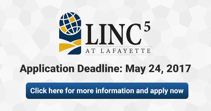 LINC5 at Lafayette High School Application Deadline May 24, 2017