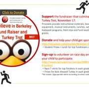 Turkey Trot Fundraiser Information Photo