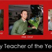 Teacher of the Year: Mr. Ernst, History Teacher