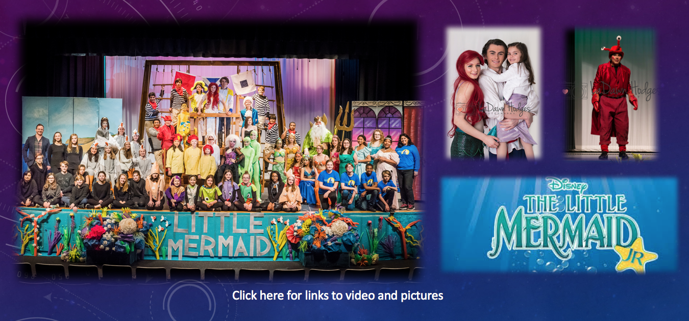 Little Mermaid, Jr - Click here for link to video and pictures.