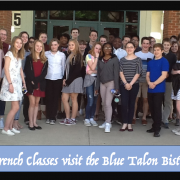 French Classes visit the Blue Talon