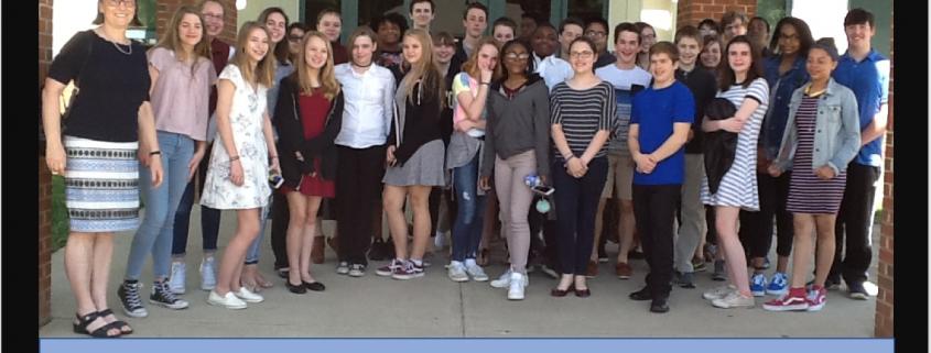 French Classes visit the Blue Talon
