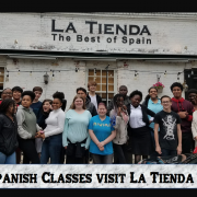 Spanish Classes visit La Tienda
