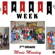 Spirit Week - Movie Monday Photos