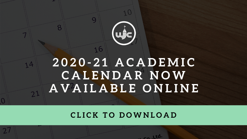 2020-21 academic calendar now available online