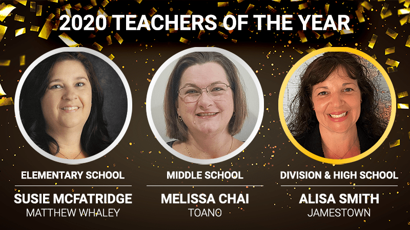 2020 Teacher of the Year