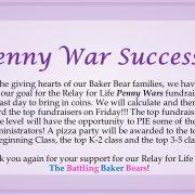 Penny War Success!!!! 2