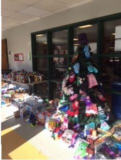 D.J. Families participate in the 12 Days of Giving