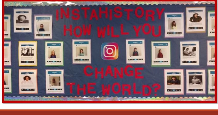 D.J. Montague students learn about the impact of several influential African Americans and share how they too will change the world.