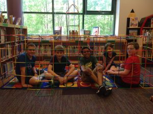 5th graders and Makerspace