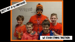 DJM celebrates Unity Day 2018 by wearing orange!