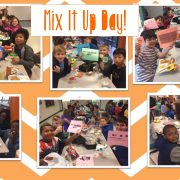 Students at DJM participated in Mix It Up Day at lunch today, Oct. 31st.
