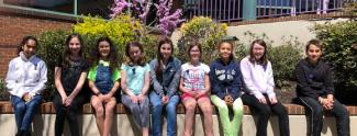 5th Grade students who participated in the Orchestra Solo Festival