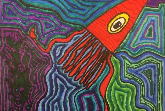 Fourth Grade artwork