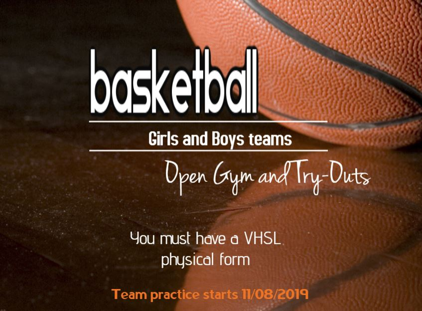 Basketball open gym and try-outs