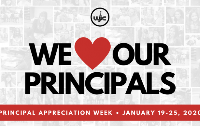 We Love Our Principals January 19-25