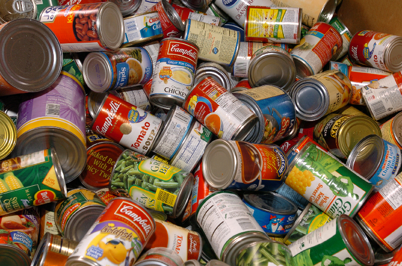 Thanksgiving Canned Food Drive List