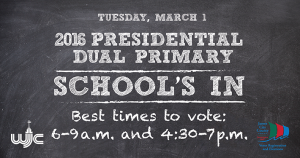 School's In - Best Times To Vote