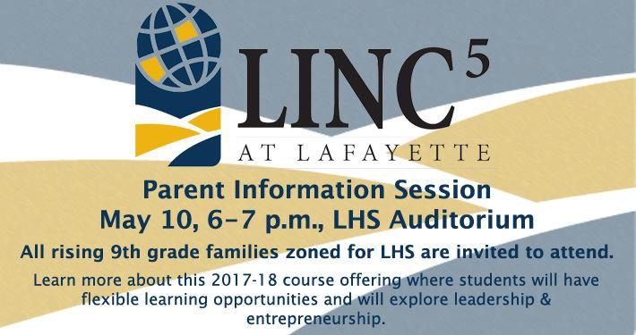 2017 parent meeting LHS LINC5 Slide