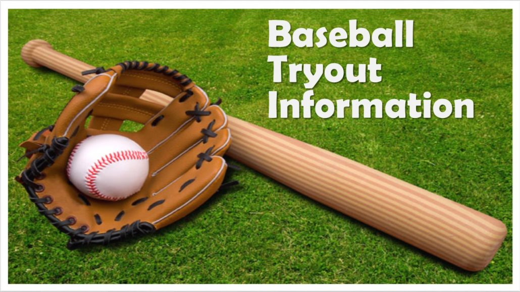 Baseball Tryout Information Hornsby Middle School