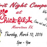 spirit night chick fil a