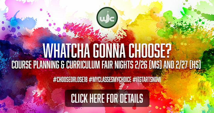 2018 Course Planning Night & Curriculum Fair