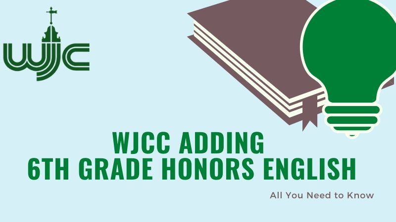 6th Honors English added to courses for fall
