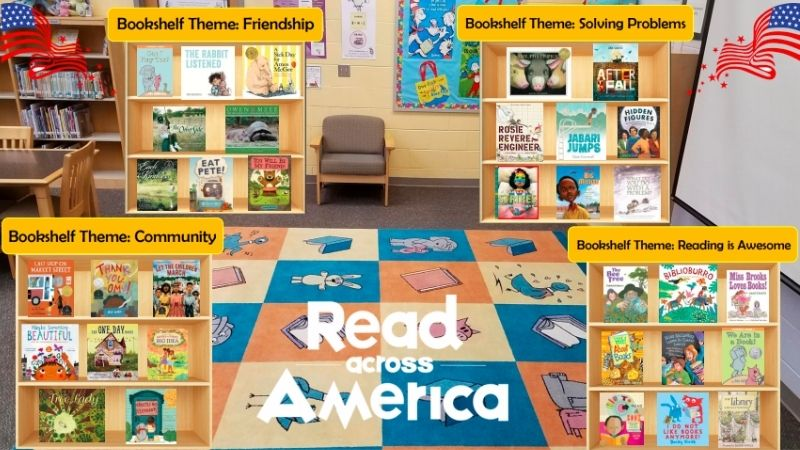 Read Across America JBB Bookshelf