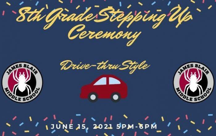 Drive thru ceremony 8th grade