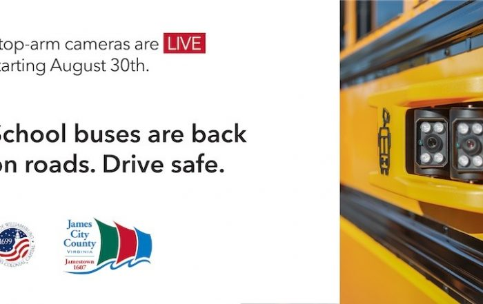 Stop-arm cameras are LIVE starting August 30 - School buses are back on roads. Drive Safe
