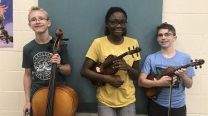 Honors Orchestra participants