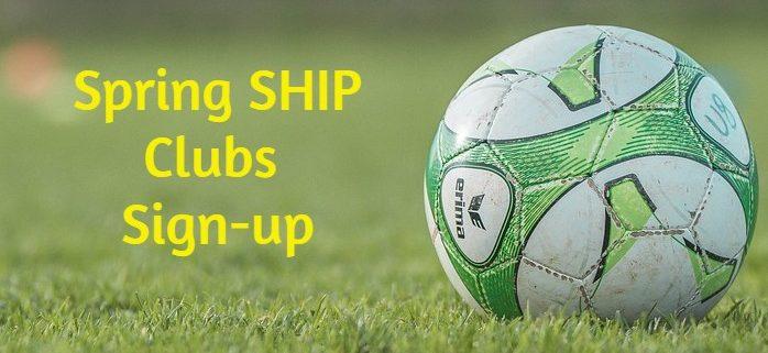 SHIP sign-up