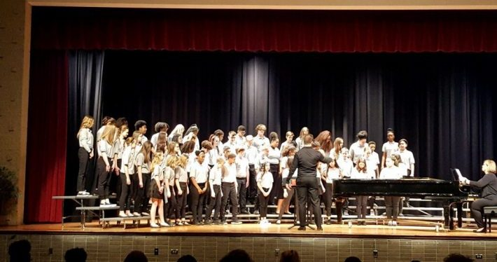 JBMS Choir 2019