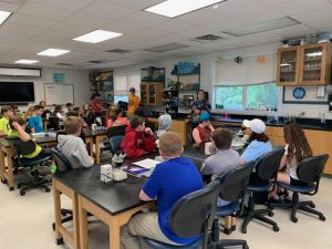 2nd Period 7th gr Science at VIMS