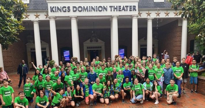 JBMS Music Students at King's Dominion