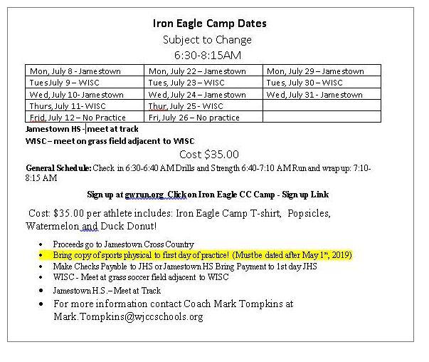 Iron Eagle Camp