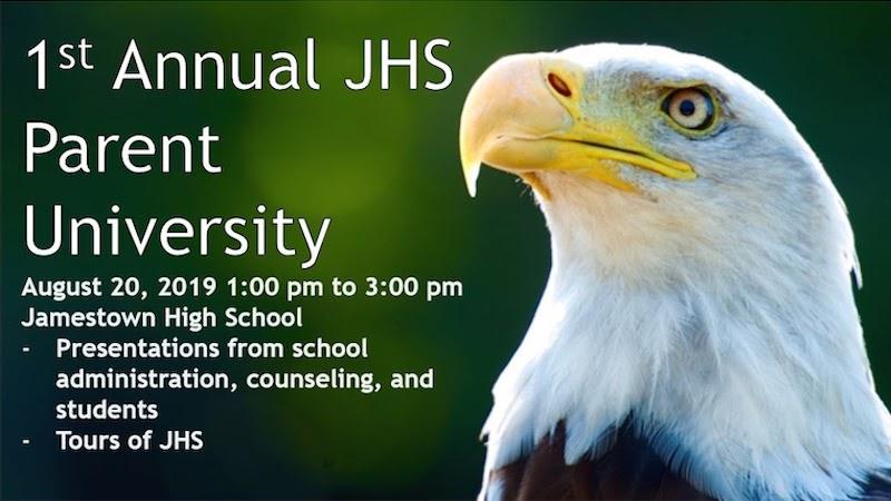 Jamestown 1st Annual Parent University