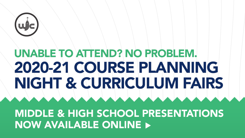Unable to attend? No problem. FY21 Course Planning Night & Curriculum Fairs