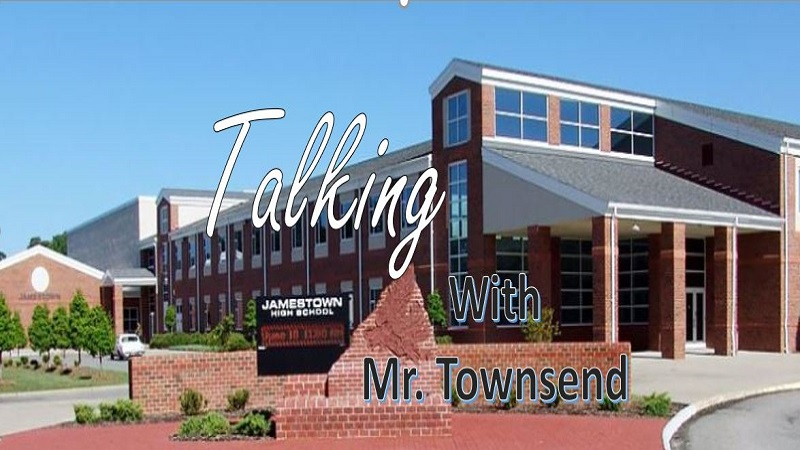 Talking with Mr. Townsend