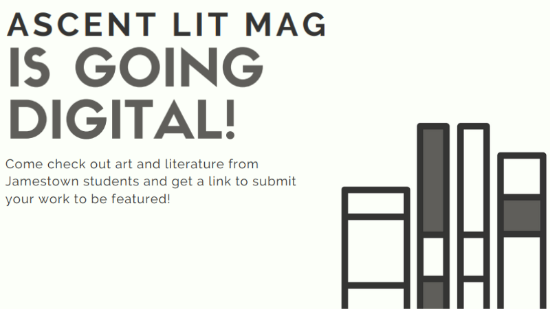 Ascent Lit Mag is going digital. Click to access