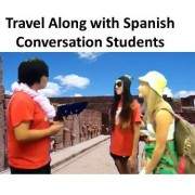Travel Along with Spanish Conversation Students